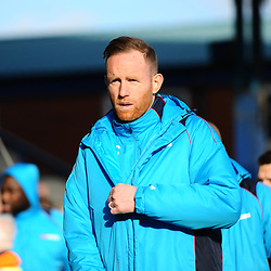 TELFORD COPYRIGHT MIKE SHERIDAN 16/2/2019 - during the Vanarama Conference North fixture between Stockport County and AFC Telford United at Edgeley Park
