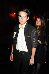 RICHARD DENNEN at the Tatler Little Black Book Party held at Tramp, 40 Jermyn Street, London on 3rd November 2010.