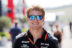 23.07.2015, Hungaroring, Budapest, HUN, FIA, Formel 1, Grand Prix von Ungarn, Vorberichte, im Bild Nico Huelkenberg (Sahara Force India F1 Team) // during the preperation of the Hungarian Formula One Grand Prix at the Hungaroring in Budapest, Hungary on 2015/07/23. EXPA Pictures &copy; 2015, PhotoCredit: EXPA/ Eibner-Pressefoto/ Bermel<br /> <br /> *****ATTENTION - OUT of GER*****