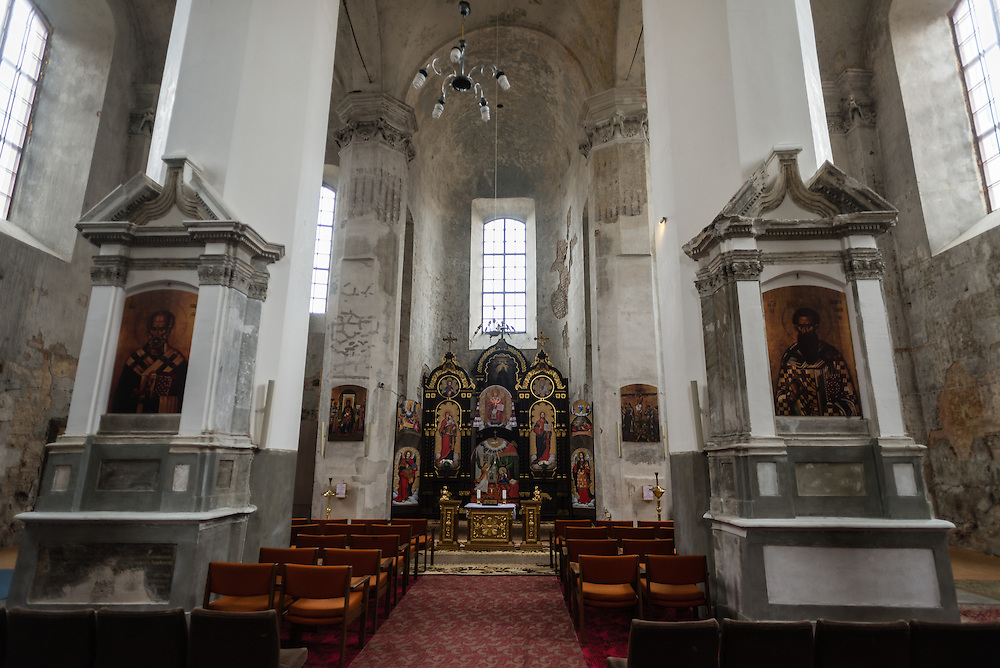 Church of the Holy Trinity in downtown Vilnius, Lithuania