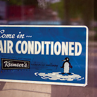 Air conditioning was a long time coming to the Mississippi Delta. Owners of small businesses knew folks were always looking for relief from the heat and humidity of long summer days. And, it certainly didn't hurt sales!