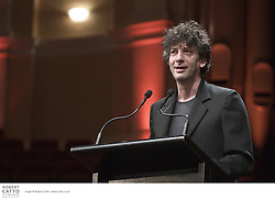 Neil Gaiman is one of the bestselling writers of modern comics and books for readers of all ages. He is listed in the Dictionary of Literary Biography as one of the top ten living post-modern writers, and is a prolific creator of prose, poetry, film, journalism, comics, song lyrics and drama. Beloved among readers around the world, Gaiman's many books include American Gods, Anansi Boys, and the hugely successful Coraline, which has been adapted for the stage and screen. His picture books include The Day I Swapped My Dad for Two Goldfish, and The Wolves in the Walls, the latter of which he adapted for the theatre. His comics include The Sandman  series and most recently Gaiman has published the novel The Graveyard Book which won the 2009 Newberry Medal and a 2009 Hugo Award (Best Novel).  Neil appeared at NZ Post Writers & Readers Week in conversation with Kate de Goldi.