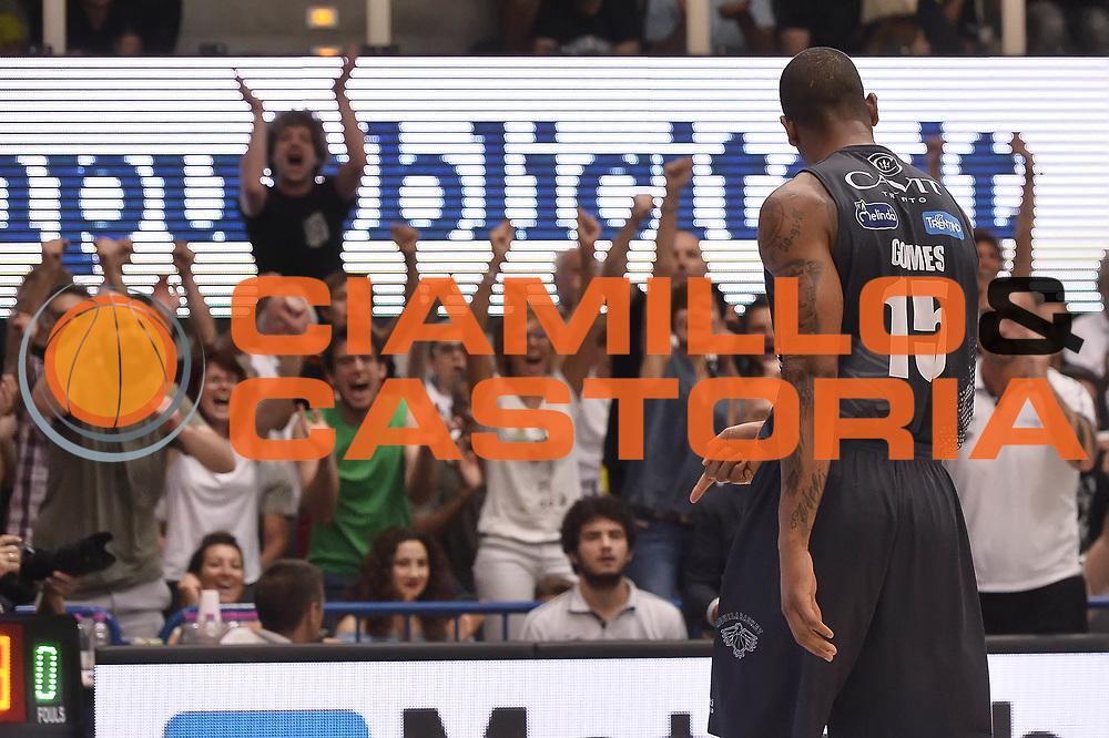 Gomes Joao<br /> Dolomiti Energia Aquila Basket Trento - Umana Reyer Venezia<br /> Playoff Gara 4<br /> Lega Basket 2016/2017<br /> Trento 16/06/2017<br /> Foto Ciamillo-Castoria