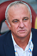 GUANGZHOU, CHINA - MAY 03:  Head coach of Sydney FC Graham Arnold looks on during the AFC Asian Champions League match between Guangzhou Evergrande FC and Sydney FC at Tianhe Stadium on May 3, 2016 in Guangzhou, China.  (Photo by Aitor Alcalde Colomer/Getty Images)