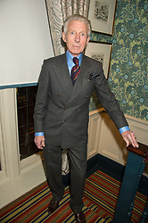 EDWARD SEXTON at a cocktail reception hosted by the Woolmark Company, Pierre Lagrange and the Savile Row Bespoke Association to celebrate 'The Ambassador's Project' for London Collections Mens at Marks Club, Charles street, London on 8th January 2016.