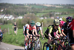 Amanda Spratt (AUS) of Mitchelton Scott Cycling Team climbs on the Keutenberg during the Amstel Gold Race - Ladies Edition - a 126.8 km road race, between Maastricht and Valkenburg on April 21, 2019, in Limburg, Netherlands. (Photo by Balint Hamvas/Velofocus.com)