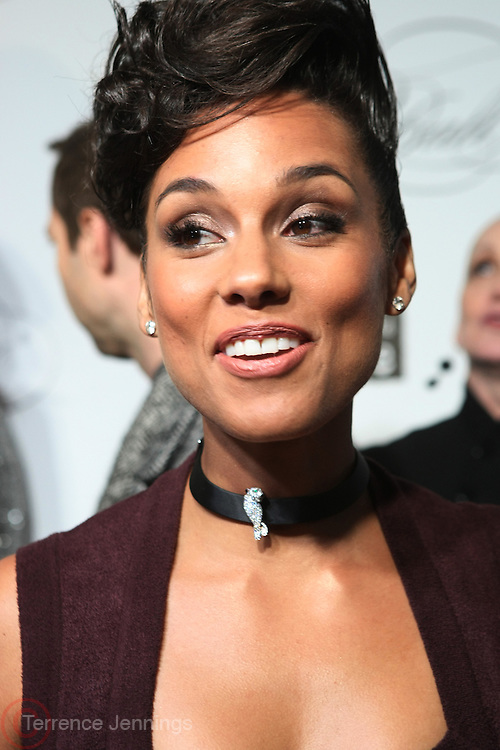 "December 6, 2012- New York, NY: Recording Artist Alicia Keys attends the ' Keep A Child Alive Black Ball "" Redux "" 2012 ' held at the Apollo Theater on December 6, 2012 in Harlem, New York City. The Benefit pays homage to Oprah Winfrey, Angelique Kidjo for their philanthropic contributions in Africa and worldwide and celebrates the power of woman and the promise of an AIDS-free Africa. (Terrence Jennings)"