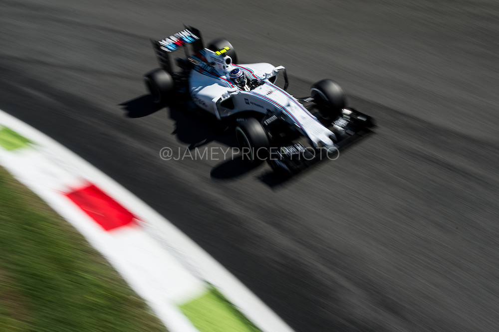 September 3-5, 2015 - Italian Grand Prix at Monza: Valtteri Bottas (FIN), Williams Martini Racing