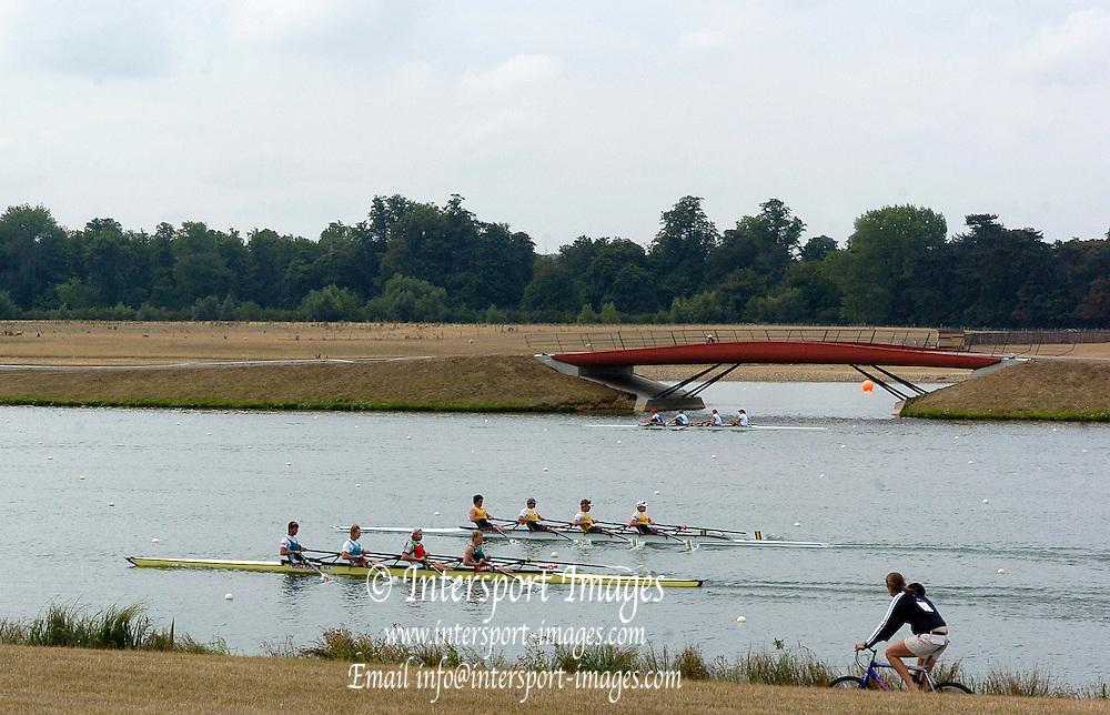 Eton, GREAT BRITAIN,  2006 World Rowing Championships, 16/08/2006.  Photo  Peter Spurrier, © Intersport Images,  Tel +44 [0] 7973 819 551,  email images@intersport-images.com , Rowing Courses, Dorney Lake, Eton. ENGLAND
