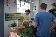 New York , Farm market , Brooklyn Eagle street rooftop farm is a commercial organic farm located on New York City rooftops in Brooklyn