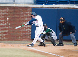 Virginia Cavaliers outfielder Brandon Marsh (9)in action against William and Mary.  The Virginia Cavaliers Baseball Team defeated William and Mary 17-2 at Davenport Field in Charlottesville, VA on February 20, 2007.