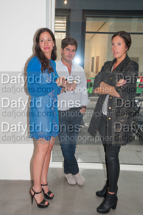 PILAR ORDOVAS; JUAN BALL; TATIANA SIELECKI, Pilar Ordovas hosts a Summer Party in celebration of Calder in India, Ordovas, 25 Savile Row, London 20 June 2012
