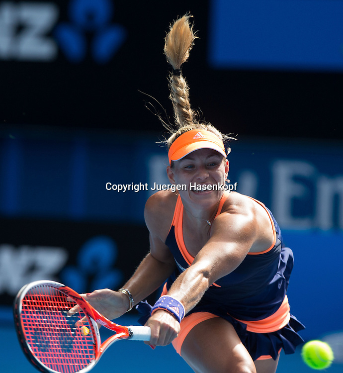 Australian Open 2015, Melbourne Park,ITF Grand Slam Tennis Tournament, Australian Open 2015, Melbourne Park,ITF Grand Slam Tennis Tournament, Angelique Kerber (GER)<br />
