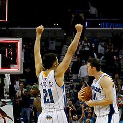 04-04-2012 Denver Nuggets at New Orleans Hornets