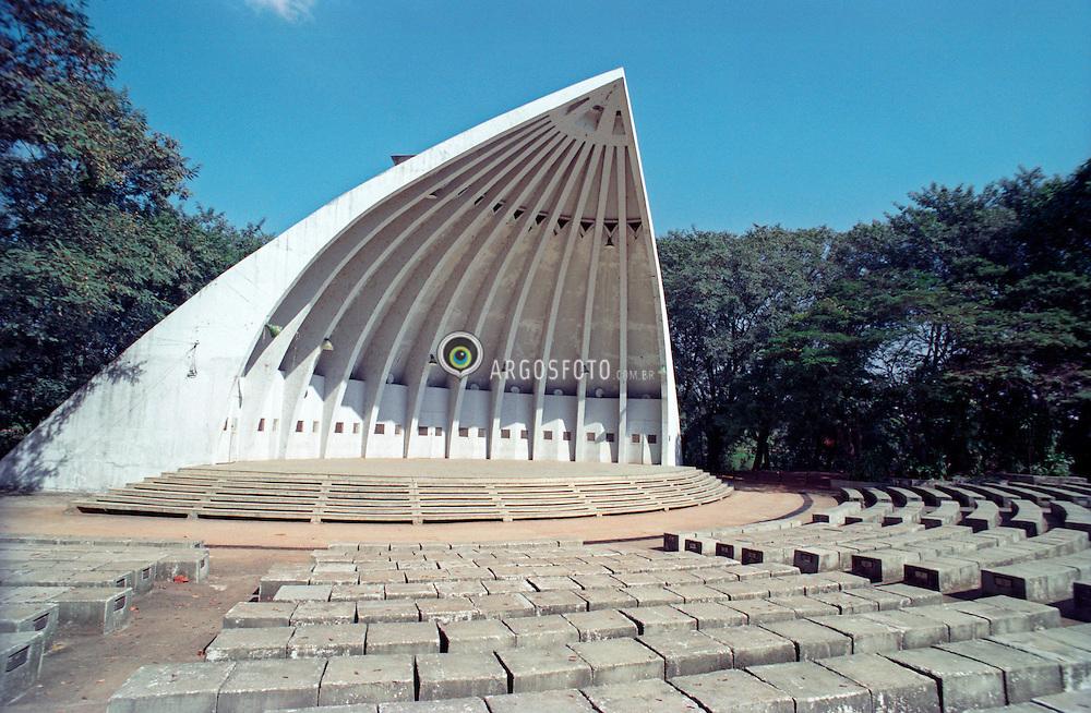 Campinas, Sao Paulo, Brasil..Concha acustica, Auditorio Beethoven, no Parque Taquaral./ Acoustic Shell, Beethoven Auditorium in Taquaral Park..Foto ©Manoel Marques/Argosfoto