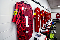 General view of the Bristol City changing room at Derby County - Mandatory by-line: Robbie Stephenson/JMP - 20/08/2019 - FOOTBALL - Pride Park Stadium - Derby, England - Derby County v Bristol City - Sky Bet Championship