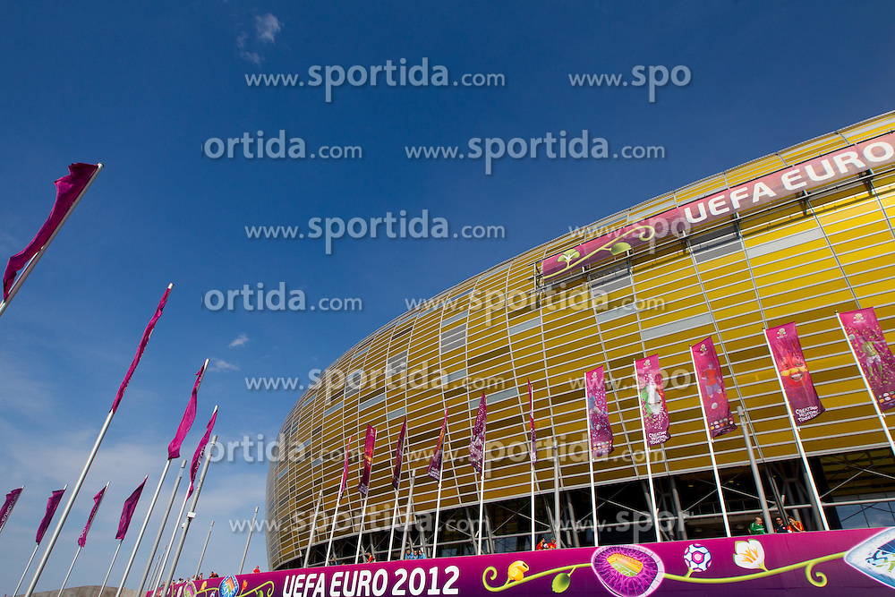 Stadium prior to the UEFA EURO 2012 group C match between Spain and Italy at The Arena Gdansk on June 10, 2012 in Gdansk, Poland.  (Photo by Vid Ponikvar / Sportida.com)