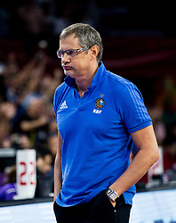 Sergey Bazarevich, head coach of Russia during basketball match between National Teams of Greece and Russia at Day 14 in Round of 16 of the FIBA EuroBasket 2017 at Sinan Erdem Dome in Istanbul, Turkey on September 13, 2017. Photo by Vid Ponikvar / Sportida