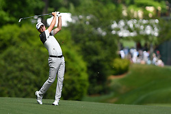 May 3, 2019 - Charlotte, NC, U.S. - CHARLOTTE, NC - MAY 03: Martin Laird plays a shot from 11th fairway in round two of the Wells Fargo Championship on May 03, 2019 at Quail Hollow Club in Charlotte,NC. (Photo by Dannie Walls/Icon Sportswire) (Credit Image: © Dannie Walls/Icon SMI via ZUMA Press)