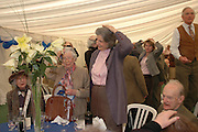 Lady Plymouth,  Mrs. William Grizel and Susan Harley. Ludlow Charity Race Day,  in aid of Action Medical Research. Ludlow racecourse. 24 march 2005. ONE TIME USE ONLY - DO NOT ARCHIVE  © Copyright Photograph by Dafydd Jones 66 Stockwell Park Rd. London SW9 0DA Tel 020 7733 0108 www.dafjones.com