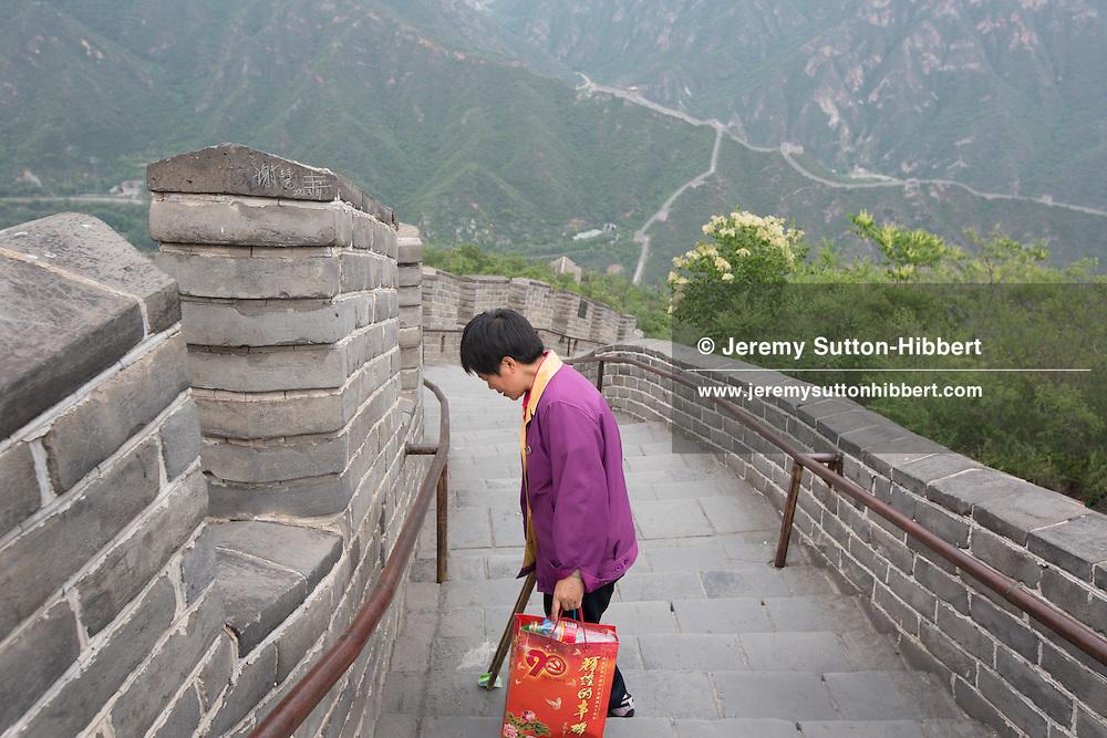 Great Wall of China, at Juyuongguan, near Beijing, China, Thursday 31st May 2012.