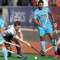 MELBOURNE - Champions Trophy men 2012<br /> Germany  v India 3-2<br /> foto: Oliver Korn und Marco Miltkau for 1-0<br /> FFU PRESS AGENCY COPYRIGHT FRANK UIJLENBROEK