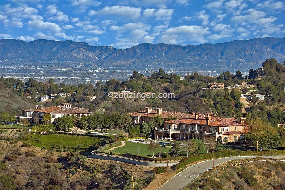 Beverly, Ridge, Terrace, Luxury, Homes, San Fernando, Valley, Los Angeles, CA, Panorama