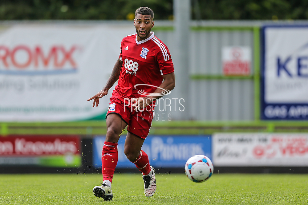 Birmingham City's David Davis during the Pre-Season Friendly match between Forest Green Rovers and Birmingham City at the New Lawn, Forest Green, United Kingdom on 16 July 2016. Photo by Shane Healey.