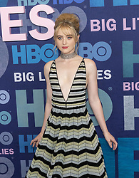 May 29, 2019 - New York, New York, United States - Kathryn Newton wearing dress by Dior attends HBO Big Little Lies Season 2 Premiere at Jazz at Lincoln Center  (Credit Image: © Lev Radin/Pacific Press via ZUMA Wire)