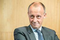 18 JUN 2018, BERLIN/GERMANY:<br /> Friedrich Merz, Vorsitzender des Aufsichtsrates BlackRock Asset Management Deutschland AG, Veranstaltung Wirtschaftsforum der SPD: &quot;Finanzplatz Deutschland 2030 - Vision, Strategie, Massnahmen!&quot;, Haus der Commerzbank<br /> IMAGE: 20180618-01-156