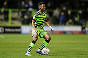 Forest Green Rovers Ebou Adams(14) during the EFL Sky Bet League 2 match between Forest Green Rovers and Carlisle United at the New Lawn, Forest Green, United Kingdom on 28 January 2020.