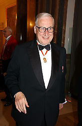 SIR JAMES BUTLER at The Royal Academy dinner before the official opening of the Summer Exhibition held at the Royal Academy of Art, Burlington House, Piccadilly, London W1 on 6th June 2006.<br />