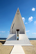 QINHUANGDAO, CHINA - OCTOBER 24: (CHINA OUT)<br /> <br />  Inner view of the Aranya Community Hall on the beach at Beidaihe New District on in Qinhuangdao, Hebei Province of China.<br /> ©Exclusivepix Media
