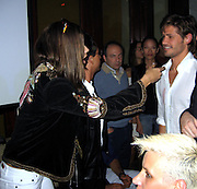 **EXCLUSIVE**.Brazilian Super Model Adriana Lima and Brazilian Super Model Letícia Birkheuer's ex- boyfriend, Max, who in 1999 owned Floats Nightclub and Brazilian Actor/Singer Dado Dolabella.PM Lounge owner Unik's Karaoke Sunday Night .New York, NY, USA .Sunday, May, 06, 2007.Photo By Celebrityvibe.To license this image call (212) 410 5354 or;.Email: celebrityvibe@gmail.com; .