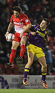 Picture by David Horn/Focus Images Ltd +44 7545 970036<br /> 17/09/2013<br /> Romain Vincelot of Leyton Orient and Jack Grealish of Notts County during the Sky Bet League 1 match at the Matchroom Stadium, London.