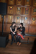 ALICE BRAZIL-BURNS; NAE-LI EHANS, The Almeida Theatre  celebrates Mike Attenborough's 11 brilliant years as Artistic Director. Middle Temple Hall,<br /> Middle Temple Lane, London, EC4Y 9AT