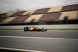 February 20, 2019 - Montmelo, Barcelona, Spain - Carlos Sainz of McLaren F1 Team  at the Circuit de Catalunya in Montmelo (Barcelona province) during the pre-season testing session. (Credit Image: © Jordi Boixareu/ZUMA Wire)