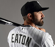 GLENDALE, ARIZONA - FEBRUARY 27:  Adam Eaton of the Chicago White Sox poses for a portrait during White Sox photo day on February 27, 2015 at Camelback Ranch in Glendale Arizona.  (Photo by Ron Vesely)