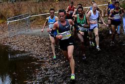 25-11-2012 ATLETIEK: NK CROSS WARANDELOOP: TILBURG<br /> Winnaar Dame Tasama BEL, Jesper Van der Wielen (U23), Khalid Choukoud<br /> ©2012-FotoHoogendoorn.nl