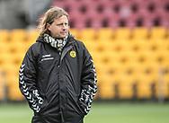 FODBOLD: Manager Bo Henriksen (AC Horsens) følger opvarmningen før kampen i ALKA Superligaen mellem FC Helsingør og AC Horsens den 18. februar 2018 på Right to Dream Park i Farum. Foto: Claus Birch.