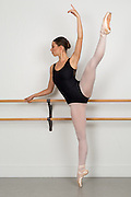 Tatiana Sedik poses for a ballet audition portrati in South San Francisco, California, on March 4, 2016. (Stan Olszewski/SOSKIphoto)