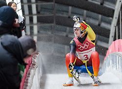 11.02.2018, Olympic Sliding Centre, Pyeongchang, KOR, PyeongChang 2018, Rodeln, Herren, 4. Lauf, im Bild Johannes Ludwig (GER, 3. Platz) // bronce medalist Johannes Ludwig of Germany during the Men's Luge Singles Run 4 competition at the Olympic Sliding Centre in Pyeongchang, South Korea on 2018/02/11. EXPA Pictures © 2018, PhotoCredit: EXPA/ Johann Groder