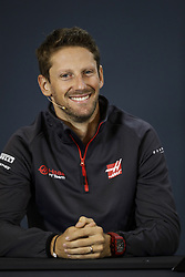 October 18, 2018 - Austin, United States - GROSJEAN Romain (fra), Haas F1 Team VF-18 Ferrari, portrait during the 2018 Formula One World Championship, United States of America Grand Prix from october 18 to 21 in Austin, Texas, USA -  /   Motorsports: FIA Formula One World Championship; 2018; Grand Prix; United States, FORMULA 1 PIRELLI 2018 UNITED S GRAND PRIX , Circuit of The Americas  (Credit Image: © Hoch Zwei via ZUMA Wire)