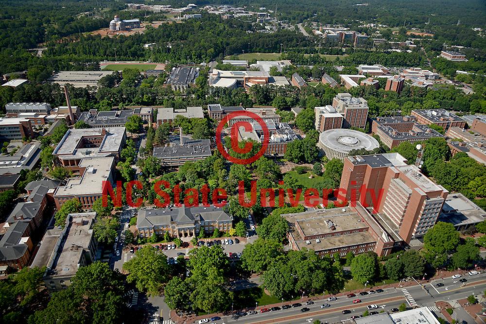 North Campus aerial looking south.