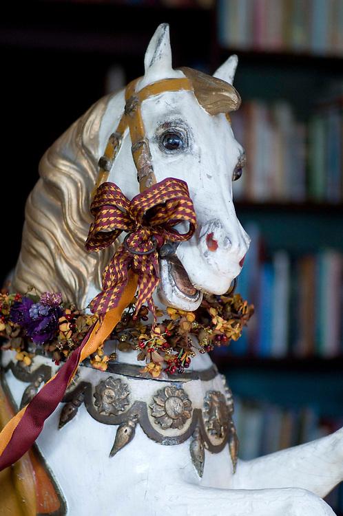 David Kiss, The Rocking Horse Workshop, Hodnet, Shropshire.