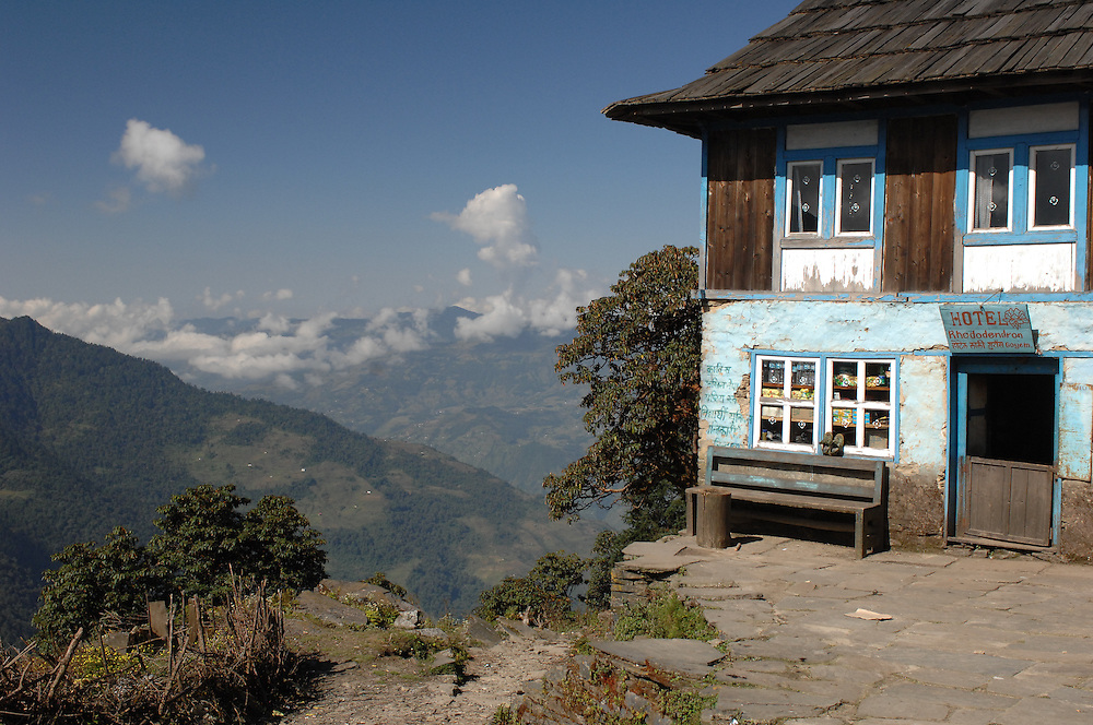 A small tea house/lodge outside of Sete in Nepal.