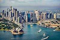 Sydney City Centre featuring Sydney Cove & Circular Quay