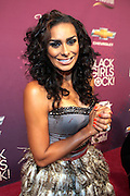 October 13, 2012- Bronx, NY: Reality TV personality Laura Govan at the Black Girls Rock! Awards Red Carpet presented by BET Networks and sponsored by Chevy held at the Paradise Theater on October 13, 2012 in the Bronx, New York. BLACK GIRLS ROCK! Inc. is 501(c)3 non-profit youth empowerment and mentoring organization founded by DJ Beverly Bond, established to promote the arts for young women of color, as well as to encourage dialogue and analysis of the ways women of color are portrayed in the media. (Terrence Jennings)