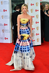 Laura Whitmore arriving for the Virgin TV British Academy Television Awards 2017 held at Festival Hall at Southbank Centre, London.