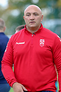 Coach Paul Anderson during the England Knights training session at Leigh Sports Village, Leigh<br /> Picture by Steve McCormick/Focus Images Ltd 07545 862647<br /> 17/10/2018